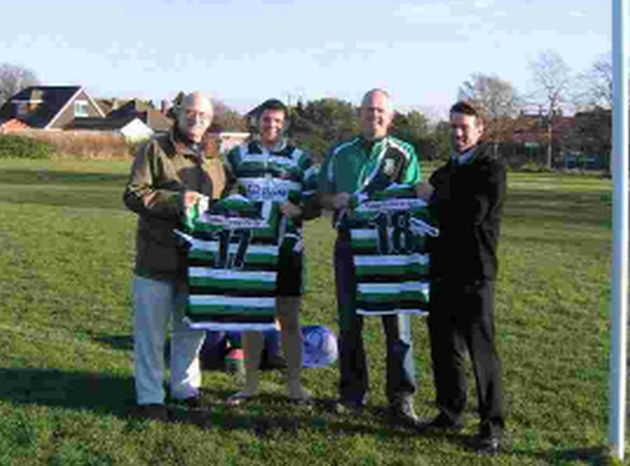 Totton firm celebrates 50 years of rugby club