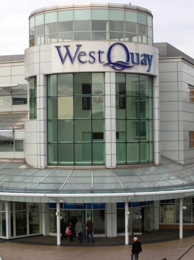 Shoppers evacuated from WestQuay due to fire
