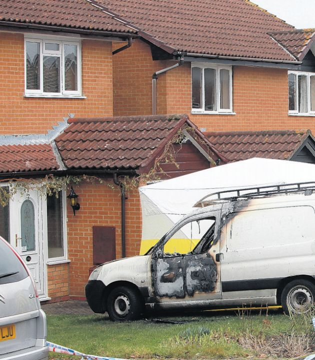 Van blaze victim was 'not known to couple'