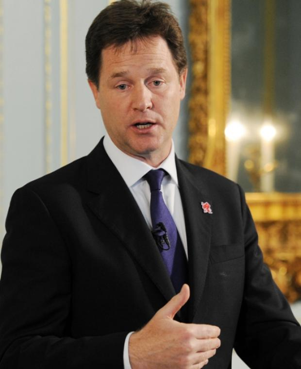 Clegg's appeal to Eastleigh voters over Huhne