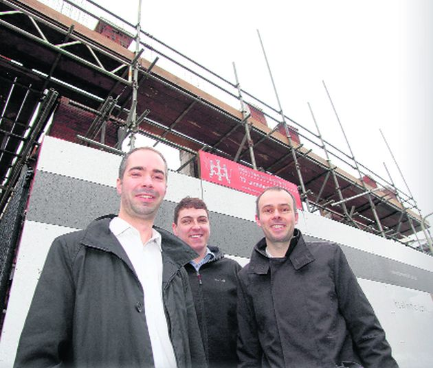 Designers have four projects on the go in Winchester
