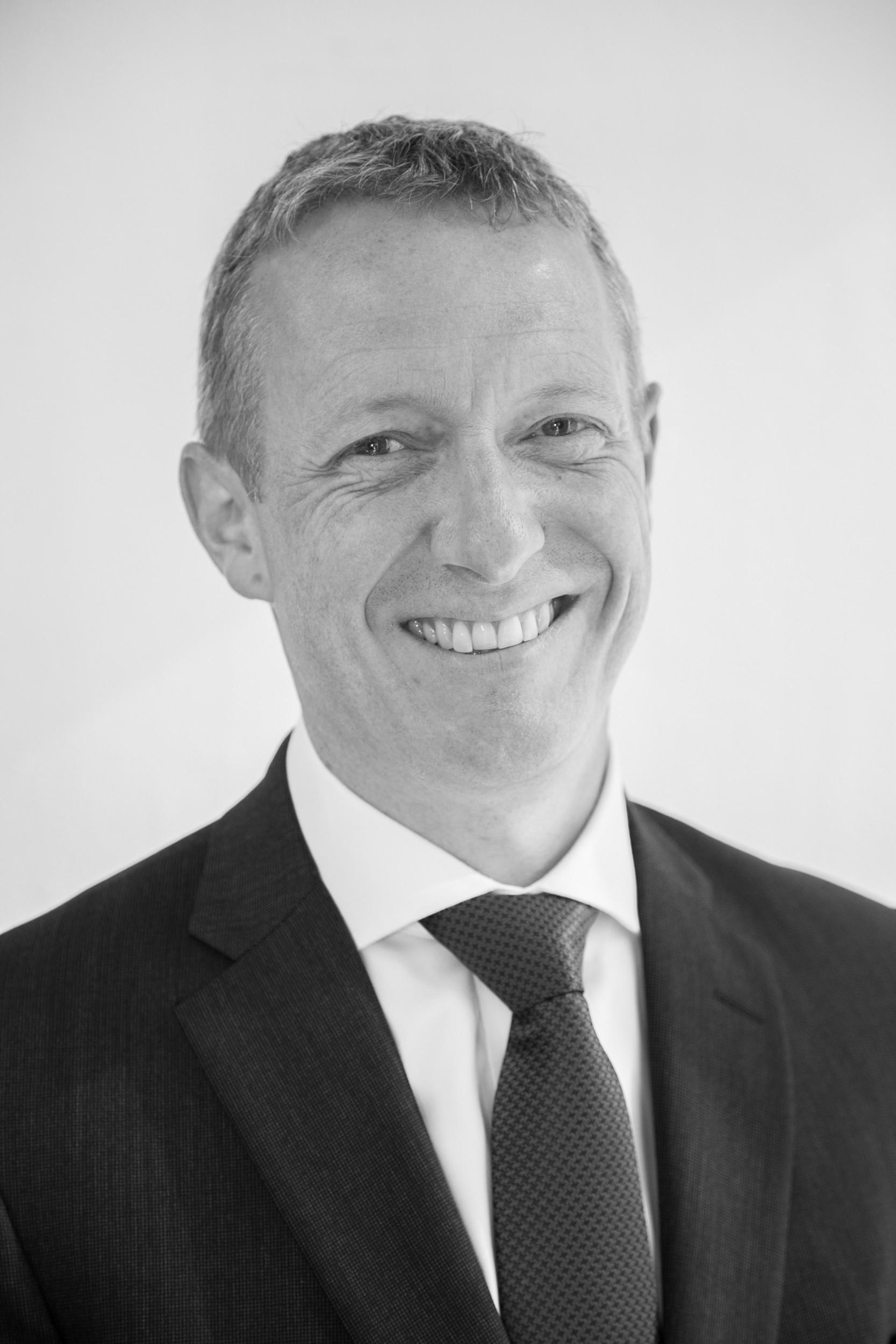 De La Rue's newly appointed chief executive Martin Sutherland - 3399999