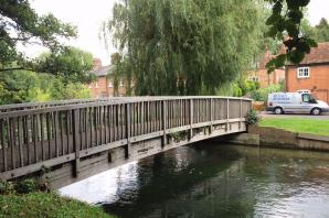 Police launch investigation after woman sexually assaulted near Hampshire bridge