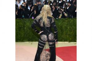 Madonna bares almost all on New York Met Gala red carpet