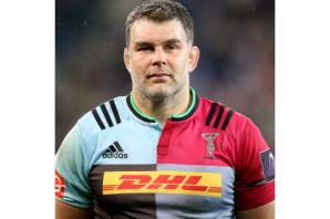 Nick Easter calls time on his playing career to become a coach at Harlequins