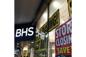 BHS disappears from the high street as remaining stores close down