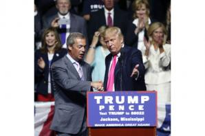 Nigel Farage says 'Trump was my warm-up' and draws Reagan parallel
