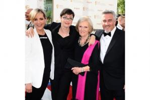 Bake Off's Mary Berry ready to put her feet up, jokes presenter Jo Brand