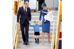George and Charlotte steal limelight as Cambridges arrive in Canada